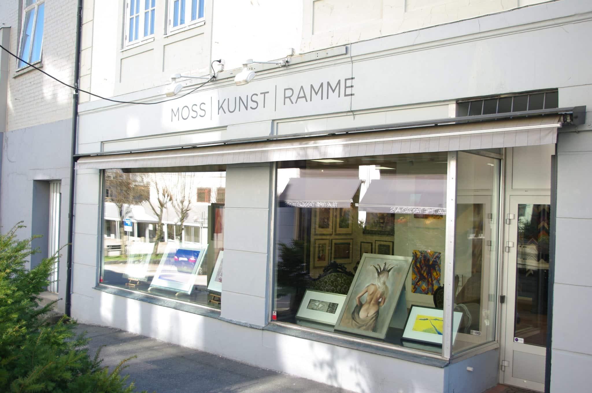 Moss | Kunst | Ramme - Moss, Østold
